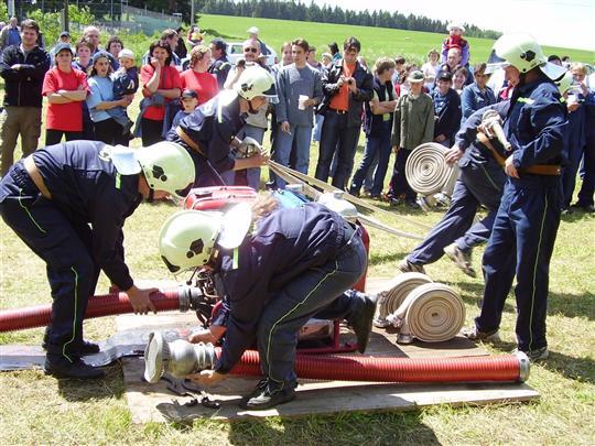 Okrsková soutěž v Mezilesí 10.6.2006