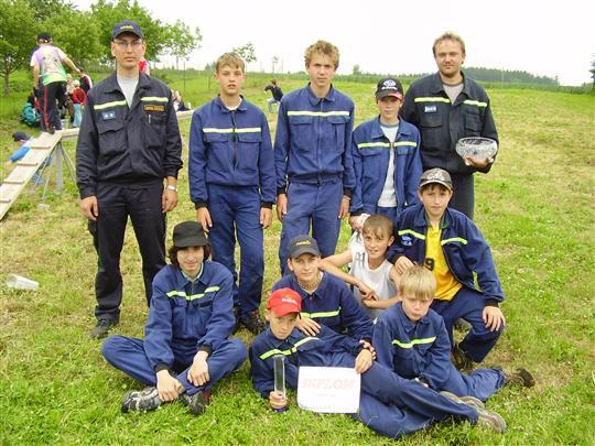 Družstvo mladších