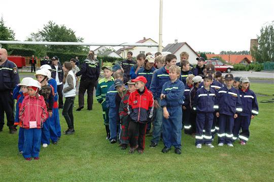 Slavnostní zahajení dětské soutěže