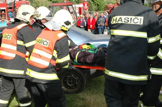 Vyproštění zraněné osoby