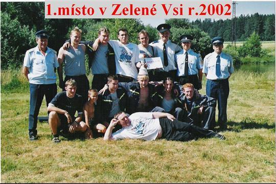 Okrsková soutěž v Zelené Vsi r. 2002