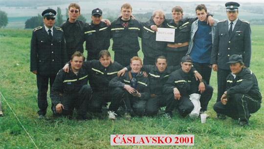 Okrsková soutěž - Čáslavsko r. 2001